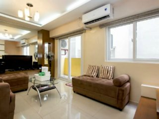 Victoria Towers - 83sqm 2BRFully Furnished Condo with WIFI