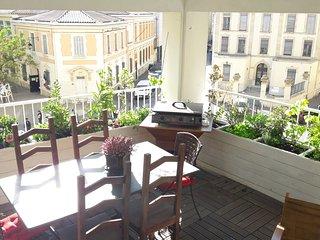 T3 avec parking gratuit et terrasse au coeur de Marseille