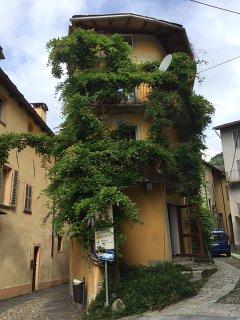 Grande appartamento in pittoresca casa nel centro storico di Varallo