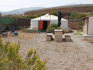 Naturist welcome rural yurt