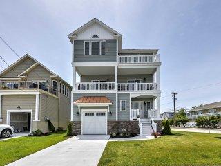 NEW! Updated 4BR Brigantine House - Walk to Bay!