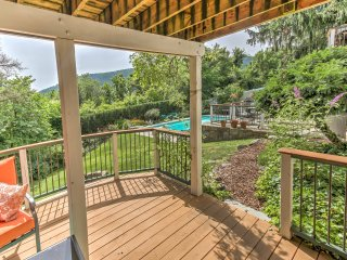 Harpers Ferry Apt w/ Semi-Private Pool & Tiki Bar!