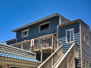 New! Beachfront 3BR San Diego Townhome w/Balcony!