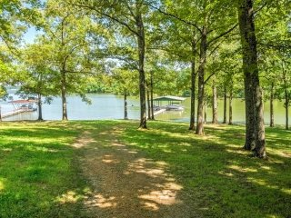 NEW LISTING! Lakefront 5BR Benton House w/Dock!