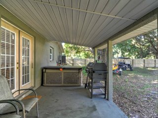 New! 3BR Ruskin House w/ Yard, Patio and Hot Tub!