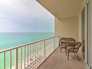 Ocean-View Panama City Beach Resort Condo w/Pools!