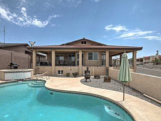 Gorgeous Hilltop Lake Havasu Home w/Private Pool