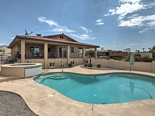 Hilltop Lake Havasu Home w/Private Pool & Hot Tub!