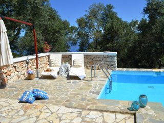 Paxosblue. Nostos studio with private pool.