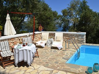 Paxosblue. Sea View Unique studio with private pool.