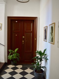 Entrance hall to our Apartment.