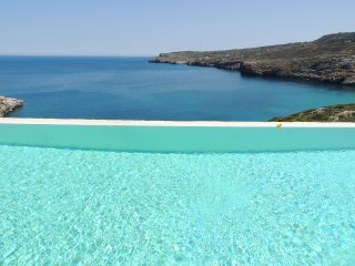Hermes House - a gorgeous luxury clifftop villa with v. private infinity pool.