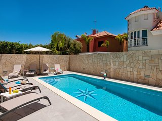 Villa Curie in Sonnenland with Pool