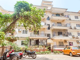 Homely 3-BR stay, 2 km from Calangute Beach