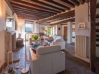 Todi Charming Medieval House with Spectacular Views and a Large Garden