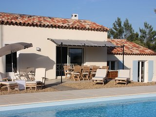 Villa with private heated pool