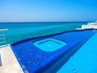 Miramar#101, Beautiful Oceanfront 2 bdrm condo, North Shore, Great Snorkeling!