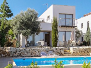 Luxury villa in Paphos, Cyprus, with pool and large rooftop terrace