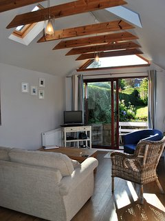 Modern style in the recently added extension