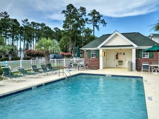 Prime Myrtle Beach Condo w/ Golf Course Views!
