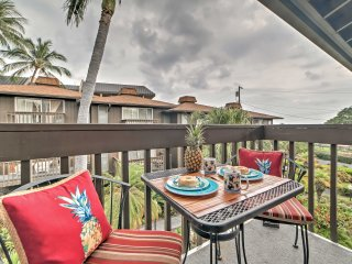 New! 1BR Kailua-Kona Condo w/ Lanais & Ocean View!