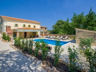 Beautiful, cosy villa Ibrahimovic on island Krk with swimming pool