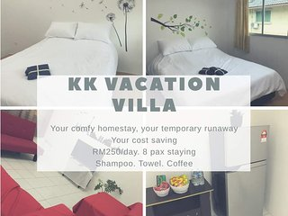 kota kinabalu vacation vila 3sty townhouse /机场