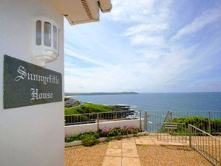 Sunnycliffe House - wonderful sea views over Woolacombe Bay