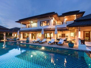 4 to 6 bedroom pool villa with scenic views at Laguna Phuket