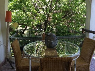 House with 3 rooms in Agii Apostoli, with enclosed garden - 200 m from the beach