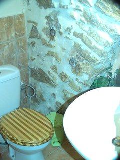 salle d'eau indépendante  WC, lavabo, Douche