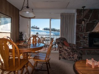 Ski-In Condo Mountain Side Sleeps 4 Granite Stainless Updated