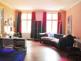 Middle of Lodz - Piotrkowska 40m2 room