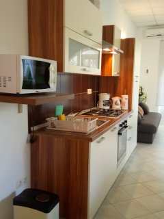 Kitchen is completly equiped