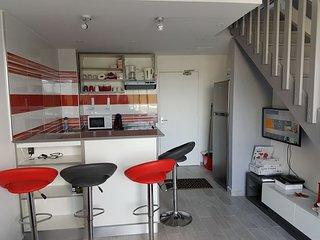 duplex, spacieux et moderne au soleil pour 2 à 6 pers.