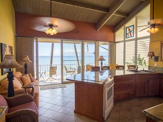 BEAUTIFUL, PRIVATE 2 BEDROOM CONDO LOCATED 20 FEET FROM THE OCEAN!