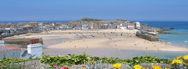 St Ives Harbour and surfing beaches