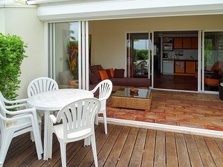 Beach front flat on Saint Martin