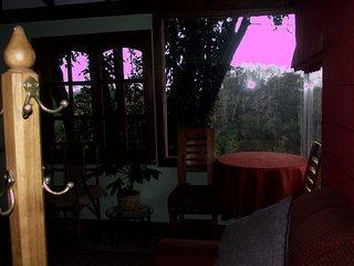 Hermosa cabaña en Villarrica con vista a río, lago y Volcan