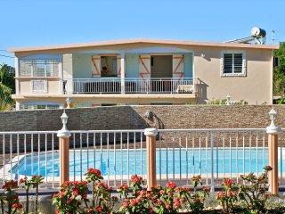 Large Guadeloupe flat w/pool & WiFi