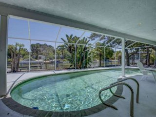 Canal Home on Siesta Key w/ Pool, Wifi, Renovated 1950 Style Sarasota School of
