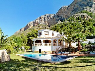 Stunning villa in Javea, Spain, with private pool, garden and panoramic views