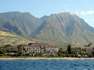 Lahaina Shores Beachfront Resort - Mountain View Studio Condo Unit #312