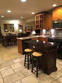 Suite: Upgraded Kitchen - Very Bright, nice  Appliances and Granite Countertop