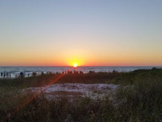 Siesta Key beach sunsets - limited January and April openings!