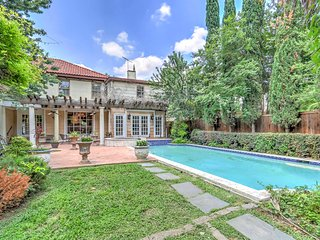 Stately Dallas Home w/Pool, Patio & Entertainment!