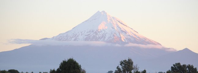 Mt Taranaki from Aviator