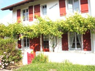 Guethary Maison de charme 8 pers Plage et village a pied