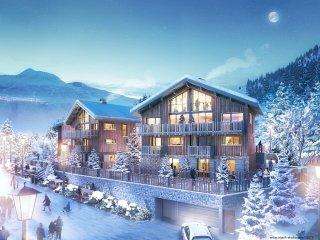 Chalet Snowflake, Montchavin Village-La Plagne - catered 5 ensuite bedrooms