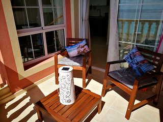 Ocean View Wonderful Chocolate Flat in Costa Calma, Playa Sotavento!